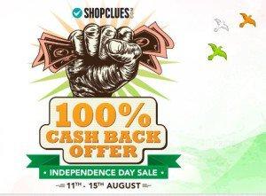 Shopclues  cashback sale