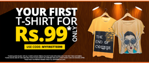 freecultr t shirt at Rs  only