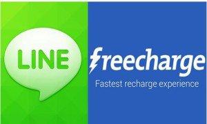 Line freecharge loot