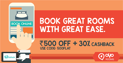 Oyo Rooms loot offer rs off