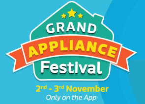flipkart grand appliance sale