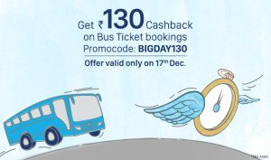 Paytm bus loot offer