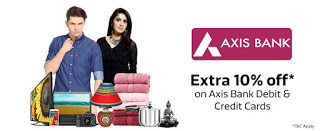 axis bank  percent discount offer