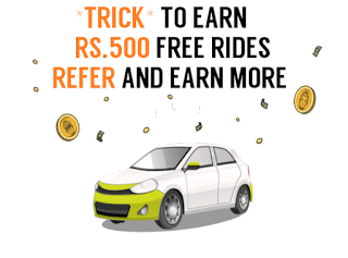 ola cabs promotional rs refer