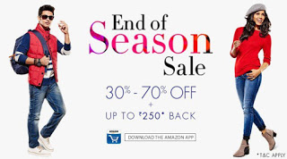 Amazon Buy Fashion Products upto  off and get Amazon Gift Card free