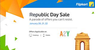 Flipkart republic day sale    january