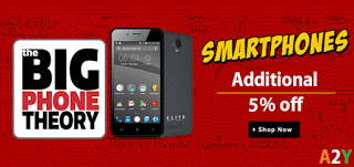 Flipkart the BIG PHONE theory get  extra off