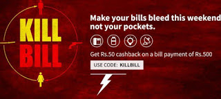 Freecharge Get Rs  cashback on Recharge Billl Payment of Rs  loot