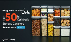 Paytm HHNK Tupperware Canisters at  cb