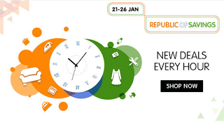 Snapdeal republic of savings sale january