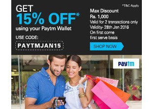 ebay paytm wallet  off max Rs  loot