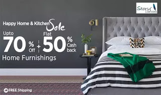paytm hhks get flat  cb on home furnishings