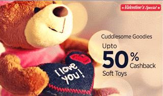 paytm valentines day offer upto  off