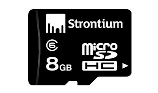 Strontium  gb memory card at rs offer