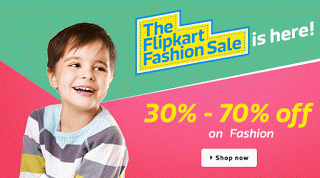 The flipkart fashion sale