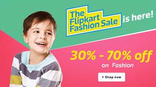 The flipkart fashion sale