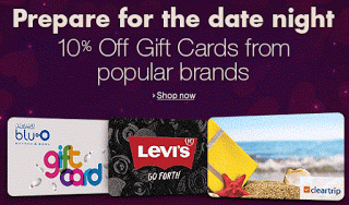 amazon flat  off on popular brand gift cards