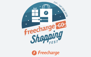 freecharge go shopping fest  th feb