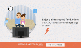 freecharge rs cashback on dth recharge of rs or more