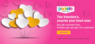 icici pockets  cb offer on gift cards