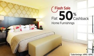 paytm flash sale  cb on home furnishing