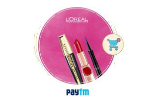 paytm valentines day offer  off on loreal paris offer