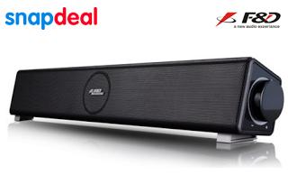 FD E Soundbar Laptop Desktop speakers at rs