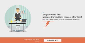 Freecharge Get  cb on recharge or bill payment all users