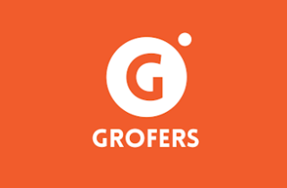 Grofers logo attractive