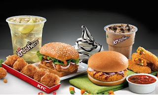 KFC loot offer deal free drinks