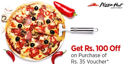 Paytm Buy Pizza Hut Voucher worth Rs  voucher for just Rs  only