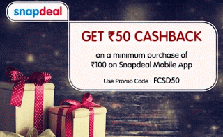 Snapdeal FCSD loot offer