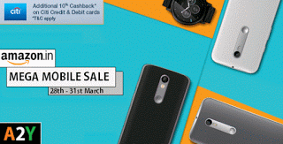 amazon mega mobile sale offer citibank