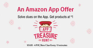 amazon treasure hunt march
