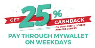 bookmyshow  percent cashback loot