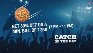 dominos pizza cricket offer CRIC