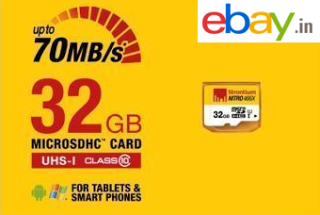 ebay loot deal strontium  gb nitro class  memory card at