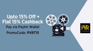 paytm  off  cashback offer pvr cinemas