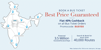 paytm BUS best bus tickets offer
