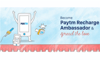 paytm recharge ambassador cashback offer deals