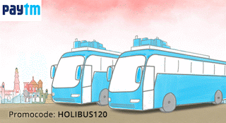 paytm rs cashback on bus tickets HOLIBUS