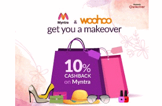 woohoo app offer cashback looot myntra