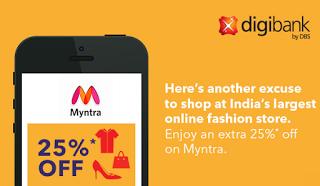 Digibank myntra app offer