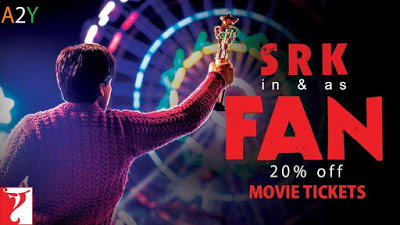Fan movie  off on tickets bookmyshow