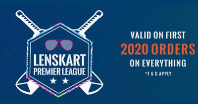 Lenskart premier leaque upto rs off on orders
