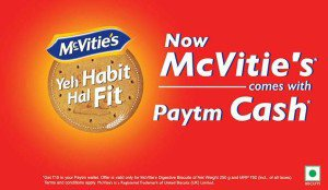 McVitie Rs  Paytm offer loot