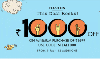 STEAL jabong loot