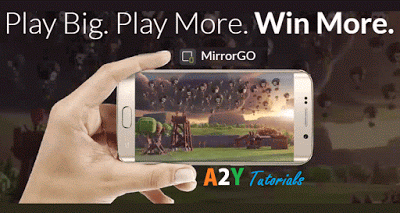 Wondershare MirrorGo ay tutorials