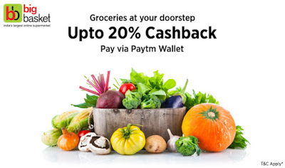 big basket paytm