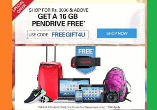 ebay free  gb pendrive FREEGIFTU